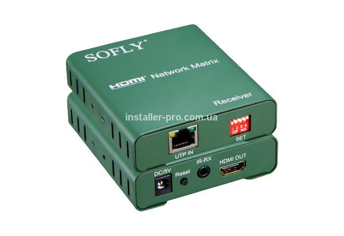 SFX HDES02-M 120m HDMI Matrix Extender over IP