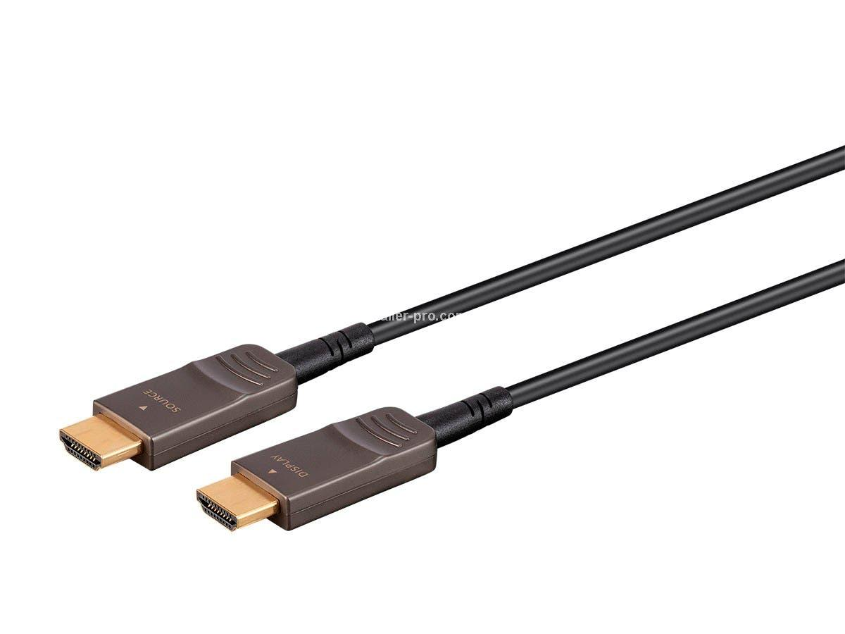 MP38627 SlimRun AV Dynamic HDR Ultra High Speed HDMI Cable - 8K@120Hz, Dynamic HDR, 48Gbps, Fiber Optic, eARC, AOC, YCbCr 4:4:4, длина 9 м