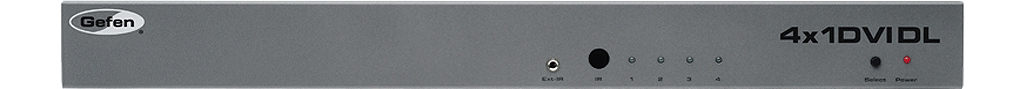 EXT-DVI-441DL - Коммутатор 4x1 сигнала DVI-D Dual Link 1080p/120 (3840x2400) с EDID