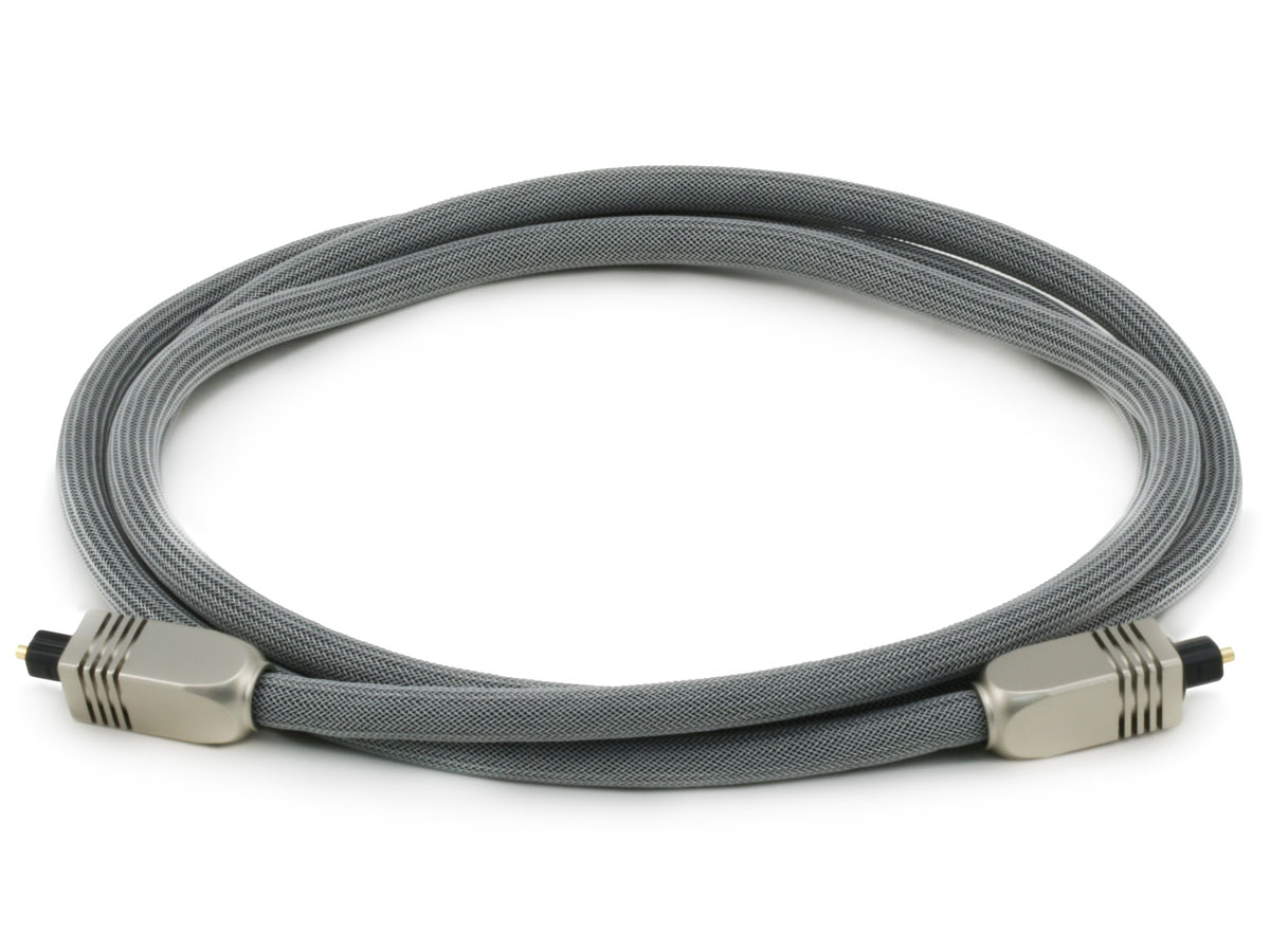Premium S/PDIF (Toslink) Digital Optical Audio Cable, длина 1.80 м.